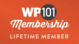 Learn WordPress - WP101 Lifetime Member
